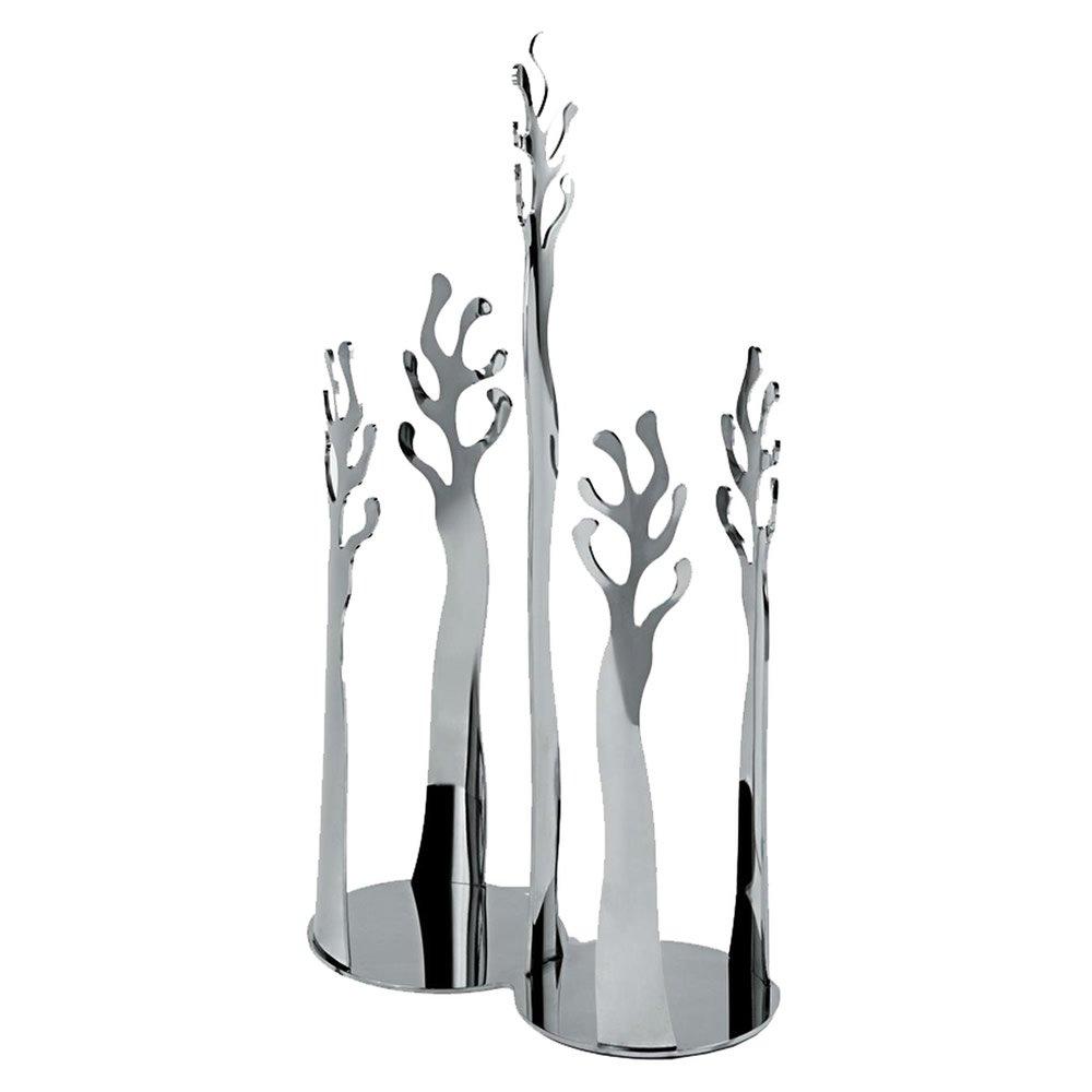 Alessi ESI19 Medit.Paper Cups Holder Medit Paper, Silver