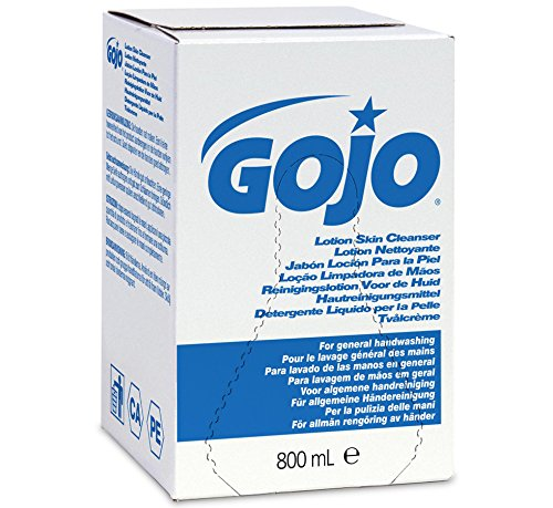 Gojo 9112-06 Accent Lotion Skin Cleanser Pink 800ml - Pack of 6 BN351-08