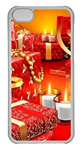 Customized Case Christmas Presents PC Transparent for Apple iPhone 5C by icecream design