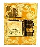 French Market - Tyler Gift Set - Room Spray (Chambre Parfum), Votive Candle, Glass Votive Holder, 11 oz Candle