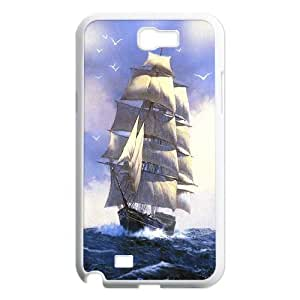 Best Quality [LILYALEX PHONE CASE] Tall ship & Sailing Vessel For Samsung Galaxy Note 2 CASE-3