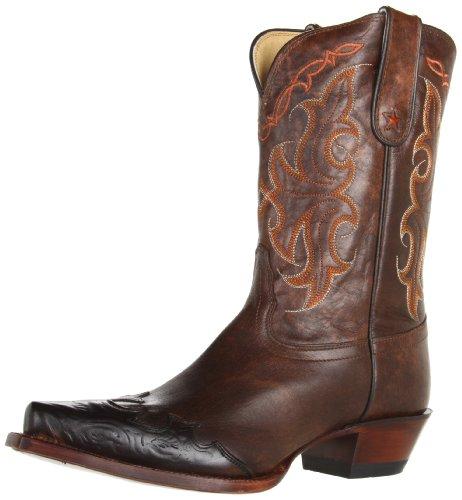 (Tony Lama Women's Clay Santa Fe VF6005 Boot,Clay Santa,10 B US)