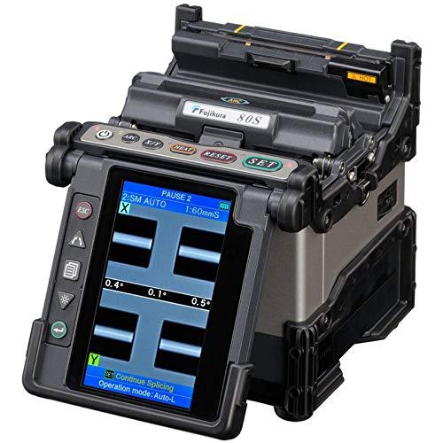 (Fujikura 80S Fiber Optic Fusion Splicer Kit for SM MM DSF NZDSF Fibers PON/FTTx Networks)