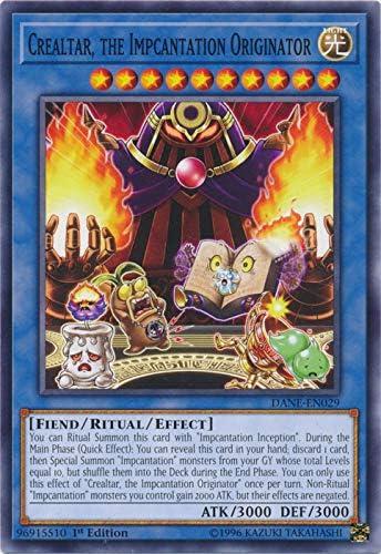 Impcantation Inception SAST-EN065 Common Yu-Gi-Oh Card 1st Edition New