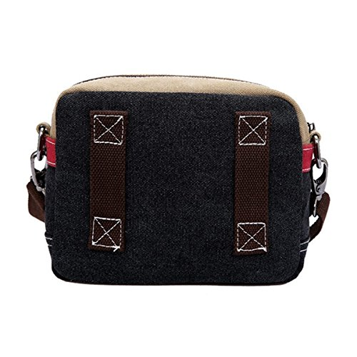 Messenger Travel Small Bag Pack Cross Blue Canvas Fashion Shoulder OULII Bag Bag Bag Waist body Casual qt8gWO