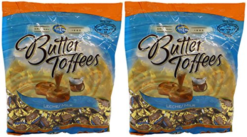 Arcor Milk Butter Kosher Toffe Candy Large (Dairy) 2 Packs