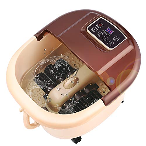 ACEVIVI Foot Spa Bath Motorized Massager with Heat and Massage and Jets, Adjustable Time & Temperature, Relaxing w/o Noise