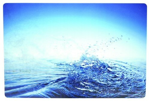 MANHATTAN 3D Notebook Skin Geeignet fuer die meisten Widescreens bis zu 15.4 Zoll (39,116cm) Blue Water
