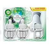 Air Wick Plug-in Air Freshener, Scented Oil Kit, Life Scents: Forest Waters, 1 Plug-in + 3 Refills