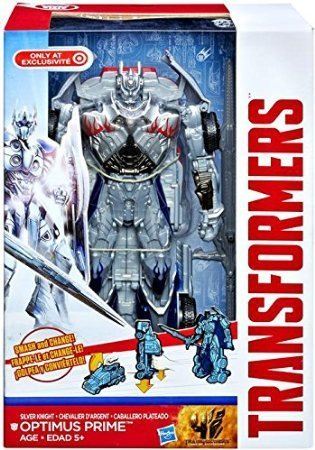 Transformers Age of Extinction Optimus Prime: Silver Knight