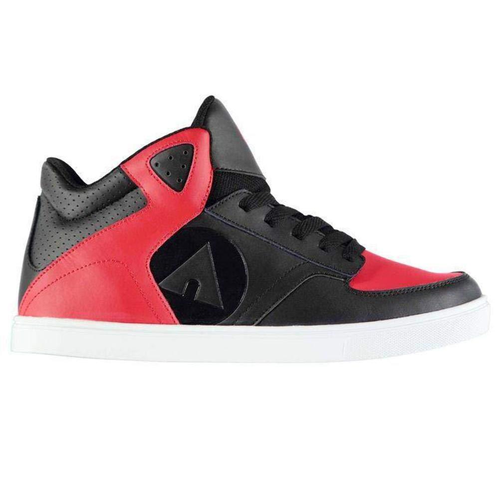 Airwalk Thrasher Skate Shoes Mens Black Skateboarding Trainers Sneakers
