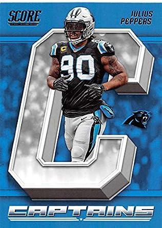 e6e21e26 Amazon.com: 2018 Score Captains #3 Julius Peppers Carolina Panthers ...