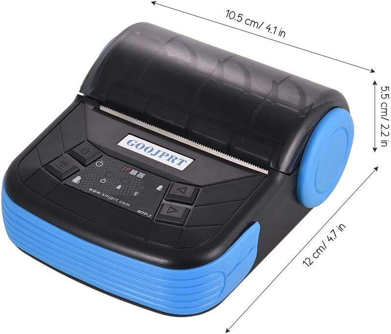 MTP-3 80mm BT Recipt Printer Portable Lightweight for Supermarket Ticket Receipt Printing GOOJPRT Thermal Printer