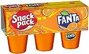 Snack Pack Juicy Gels - 6 X 99g Cup, Orange Fanta, 8 Count