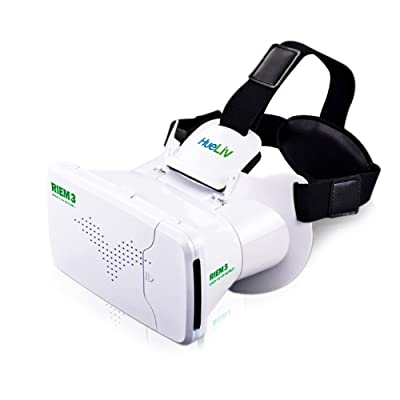 HueLiv RIEM3 VR Headset Google Cardboard, Virtual Reality
