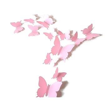 Décorations murales, stickers Décoration intérieure 3D Papillon ...