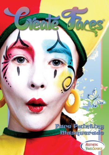 Simply Fashion Halloween Costumes (DVD - Create Faces - Masquerade Face Painting For Kids and Adults. Watch & Learn How To Do 8 Face Paint Designs With Water Based & Snazaroo Paints. 1.5 Hour)