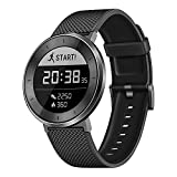 Huawei FIT (Metis-B19) 1.04-Inch IP68 Bluetooth Sport Watch Smart Watch - International Stock (Black)