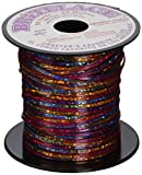"""Pepperell RBS5011 Tie Dye Rexlace Plastic Lacing, 0.938"""" by 33 yd, Red"""
