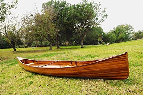 Old Modern Handicrafts Real Canoe, 16-Feet