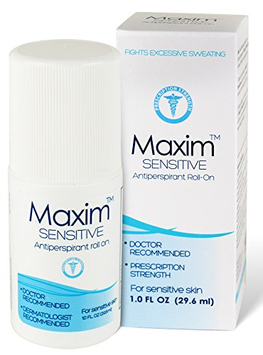 Maxim Sensitive Anti-Perspirant Deodorant Clincal Strength Clear Unscented
