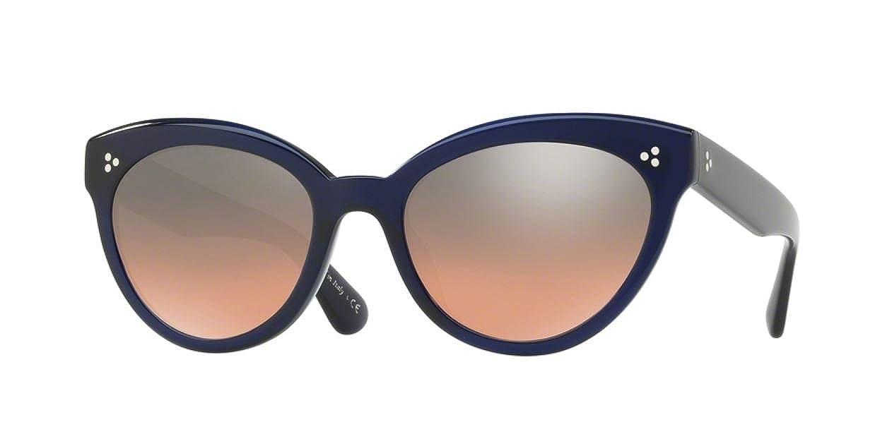 085fc51a9e Amazon.com  Authentic Oliver Peoples OV 5355 SU ROELLA 156656 DENIM  Sunglasses  Clothing