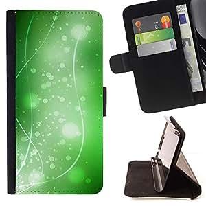 For Sony Xperia Z2 D6502 Case , Naturaleza Hermosa Forrest Verde 36- la tarjeta de Crédito Slots PU Funda de cuero Monedero caso cubierta de piel