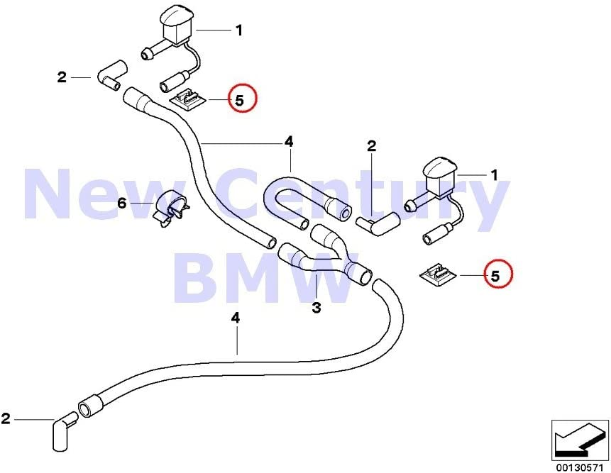 bmw 325i plug wiring diagram amazon com 4 x bmw genuine plug connection black bracket 840ci  x bmw genuine plug connection