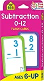 Books : Subtraction 0-12 Flash Cards
