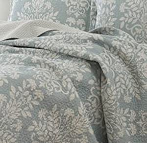 Laura Ashley Rowland Blue Quilt Set from Revman Industries