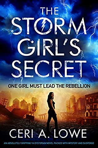 book cover of The Storm Girl\'s Secret