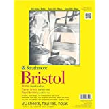 """Strathmore Artist Papers 300 Series Bristol Board Paper Pad Smooth Surface (9"""" x 12)"""""""