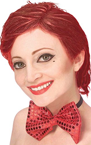Rocky Horror Columbia Wig (Womens Fancy Rocky Horror Show Dress Party Columbia Short Fake Artificial Wig)