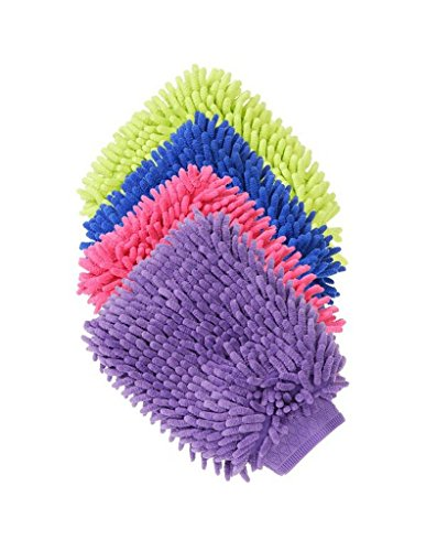 Tough-1 Grooming/Applicator Mitt Pink