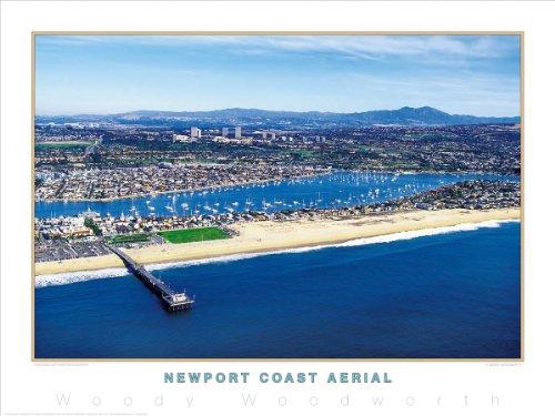 """Newport Coast Aerial"" California Coastline, Newport Beach"