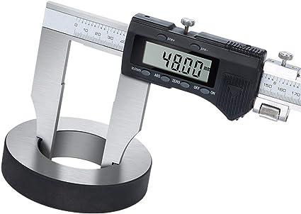 schwarz Oumij1 Digitaler Messschieber Adoric 0-6Messschieber-Messwerkzeug Elektronischer Mikrometer-Messschieber mit Gro/ßem LCD-Bildschirm Auto-Off-Funktion Zoll- und Millimeterumrechnung