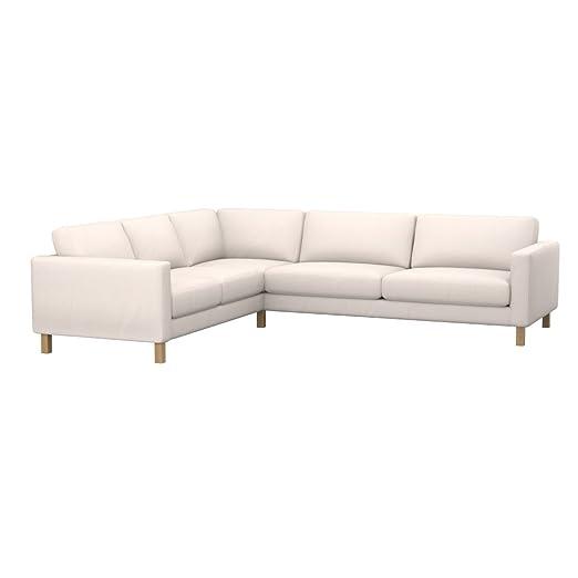 Soferia - IKEA KARLSTAD Funda para sofá Esquina 2+3/3+2, Eco ...