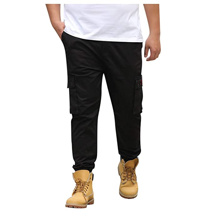 quality and quantity assured big selection of 2019 factory price Alalas Men's Big & Tall Side-Elastic Waist Cargo Pants ...