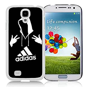 New Antiskid Designed Cover Case For Samsung Galaxy S4 I9500 i337 M919 i545 r970 l720 With Adidas 6 White Phone Case