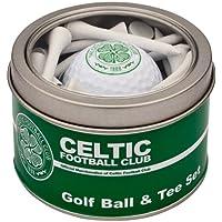 Celtic Fc Golf Ball and Tee Gift Set