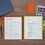 Samsill 2 Pack 5 Subject Spiral School Folder