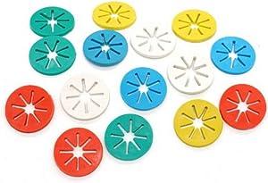YOYOSTORE 30 Pcs Mix Color Socks Stockings Hose Clip Holder Organizer Rack Laundry Supplies