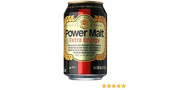 Amazon.com : Power Malt Extra Energy Beverage Drink : Beer Brewing Malt Extracts : Grocery & Gourmet Food