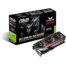 ASUS STRIX GeForce GTX 980TI Overclocked 6 GB DDR5 384-bit DisplayPort HDMI 2.0 DVI-I Gaming Graphics Card