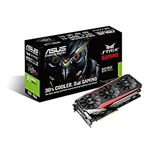 ASUS STRIX GeForce GTX 980TI Overclocked 6 GB DDR5 384-bit DisplayPort HDMI 2.0 DVI-I Gaming Graphics Card