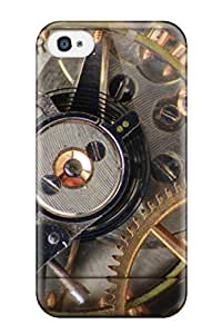 Iphone Case - Tpu Case Protective For Iphone 4/4s- The Timewas V2