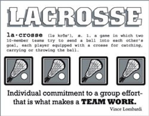 SRM Stickers Say It with Stickers Mini Lacrosse Scrapbooking ()