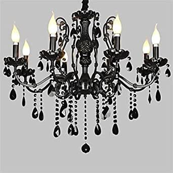 TY-Crystal Chandelier with 8 Lights (A) , 110-120V