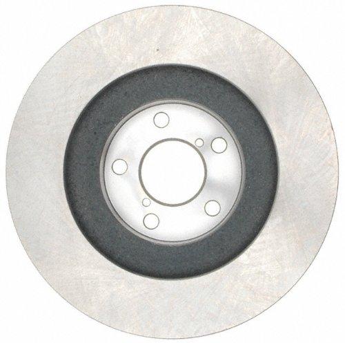 ACDelco 18A1340A Advantage Non-Coated Front Disc Brake Rotor