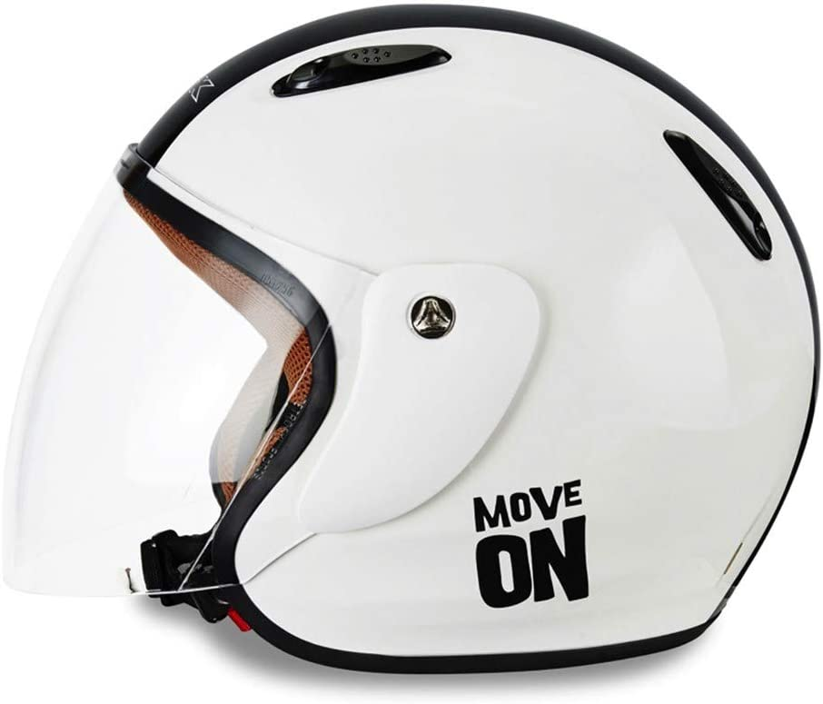 KSK Casque Move On Jet Blanc ECE R 22.05